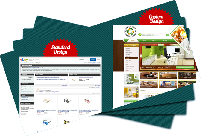 eBay store design | eBay HTML template | set up eBay store | eBay listing templates
